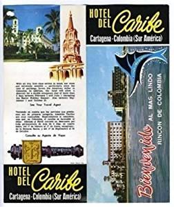 Hotel Del Caribe Brochure Cartagena Columbia 1960's