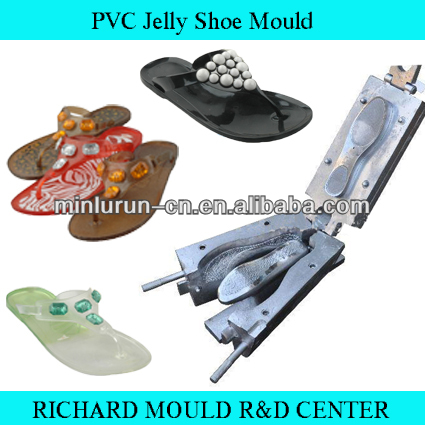 PVC Jelly plastic Slipper injection Shoe Mould manufacturer