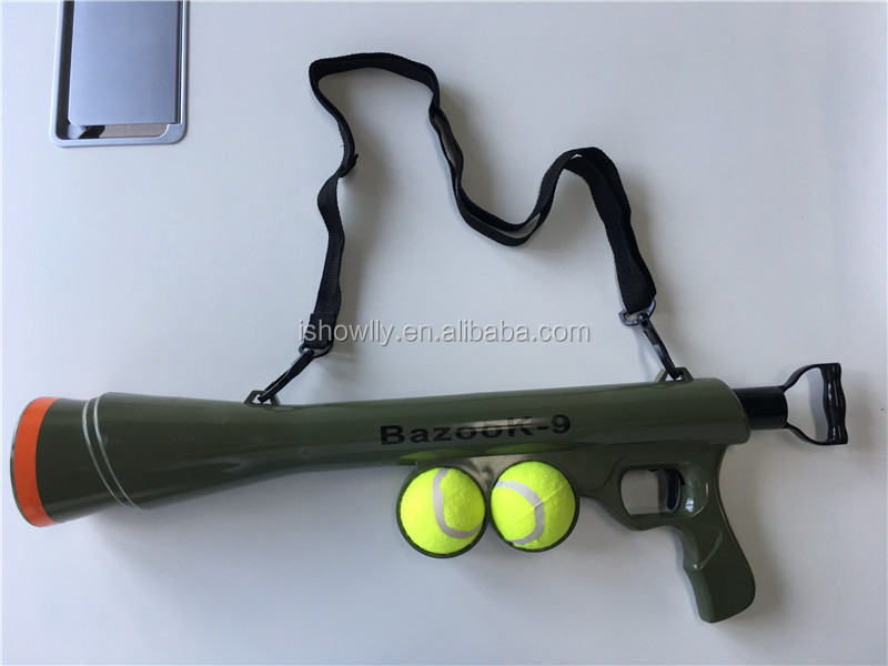 New Arrival Abs Dog Training Toy Pet Tennis Ball Launcher Gun Buy