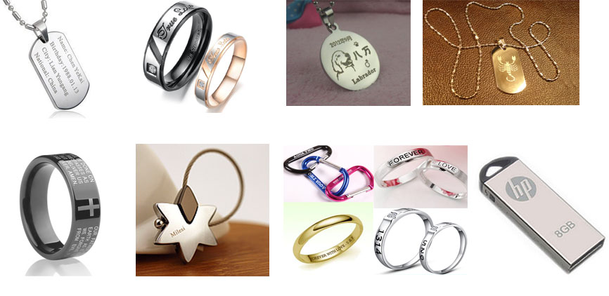 China Top Supplier 20W fiber laser marking machine for metal jewelry rings pendant