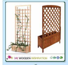 54cm Planter Wood Wooden Planter Box Factory Direct Customized Shape Buy 54cm Planter55cm Planter5 Foot Wood Planter Box With Trellis Product On