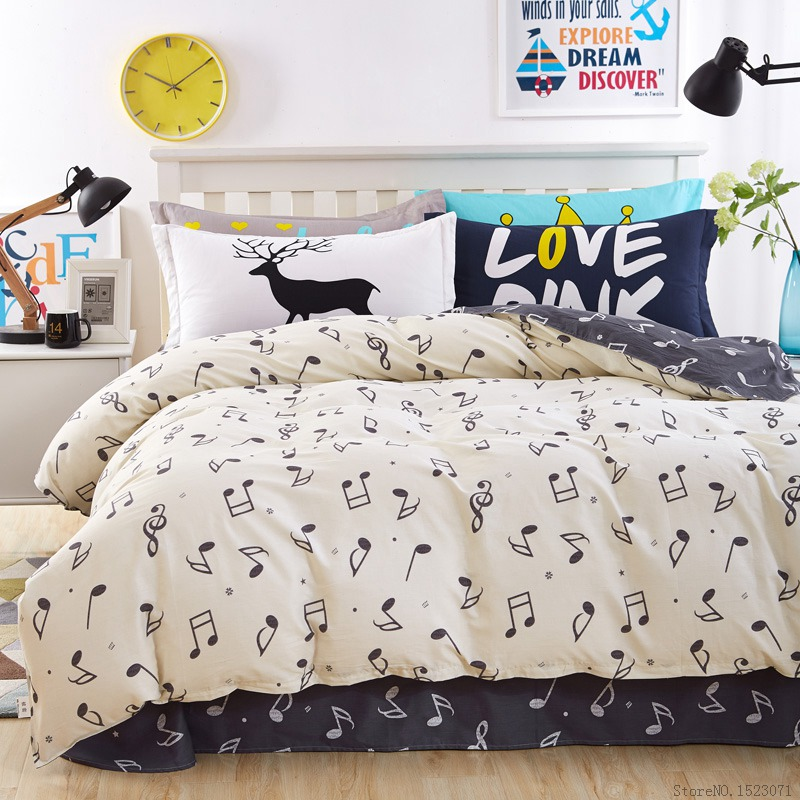 Online Get Cheap Music Bed Covers Aliexpress Com