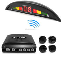 2.4G Car Wireless Parking Sensor System with LED Display and Waterproof Connector