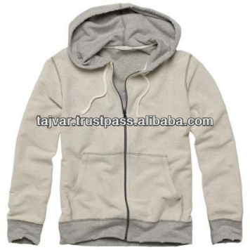 Fleece Zipper Double layer Hooded jacket