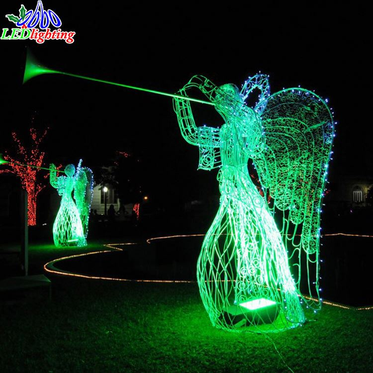 White Led Outdoor Christmas Lights.Christmas Light Warm White 3d Led Lighted Angel With Trumpet Outdoor Christmas Decorations Buy Christmas Light Warm White 3d Led Lighted Angel With