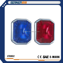 SENKEN high power surface mount big LED red and blue or amber warning light
