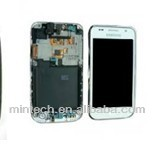 Replacement LCD assembly with frame For Samsung galaxy s 1 i9000 white