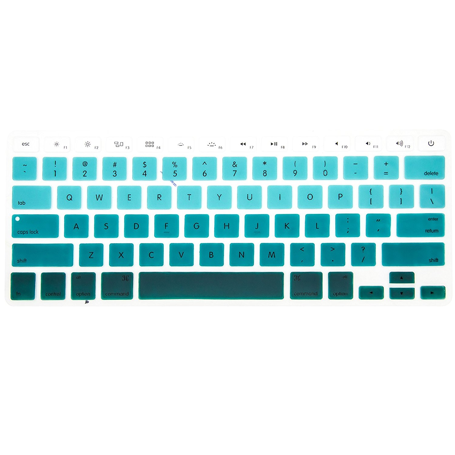 f600b1b3e3c Get Quotations · Allytech Faded Ombre Series Keyboard Cover Silicone Skin  Protector for MacBook Pro 13