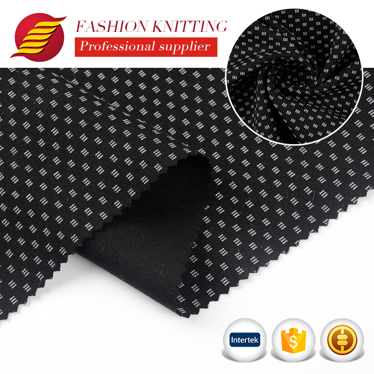 Chinese factory supply cheap custom knitting ponti roma fabric with logo