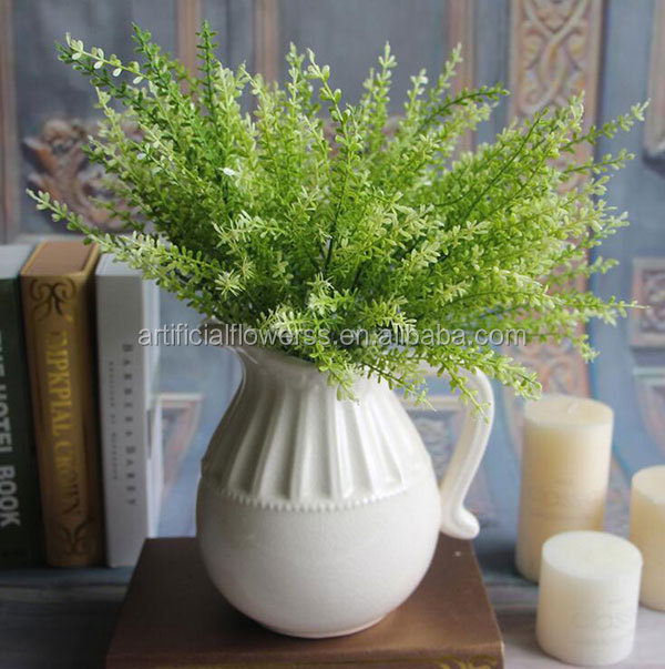 home decor artificial leaves eucalyptus plant