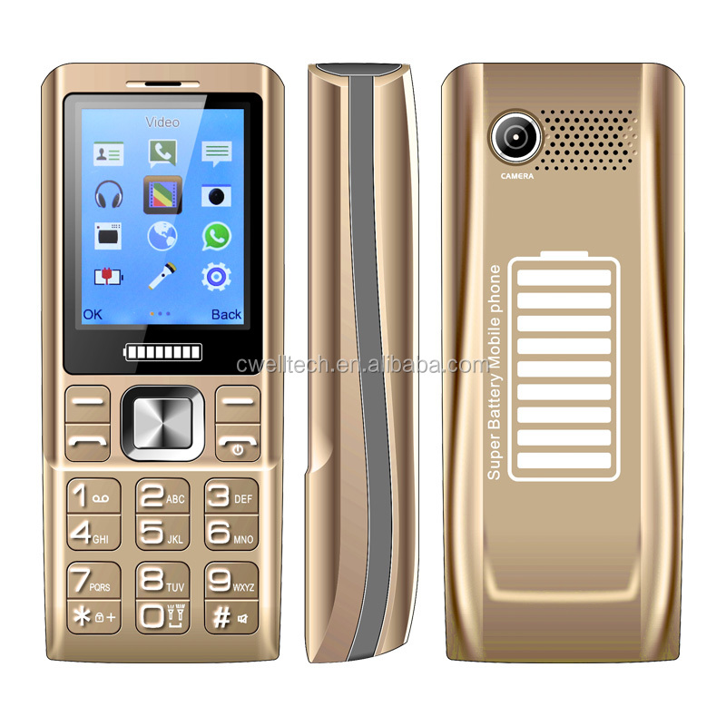 Wholesale OEM Admet K3000 2.4 inch Mobile Phone 3 sim card mobile phones