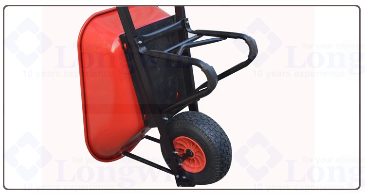 Australia Heavy Duty Steel Construction Wheelbarrow