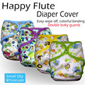 Happy flute onesize diaper cover waterproof and breathable fit 3 15kg without inserts
