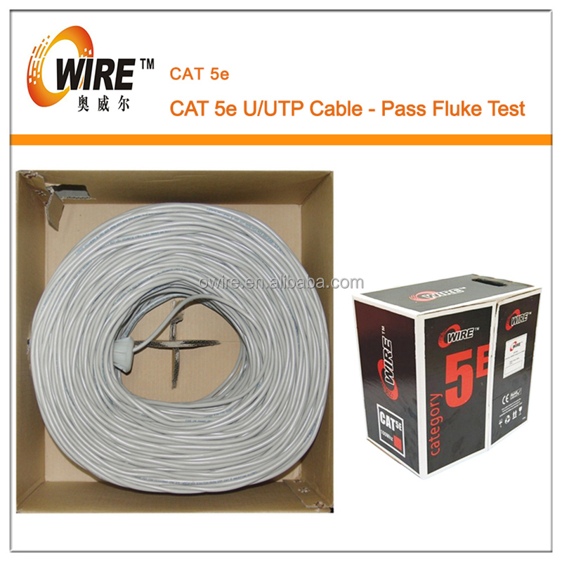 Plenum Cable CMR Riser Cable UL listed Cable Cat5e UTP