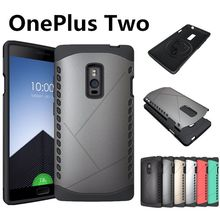 Oneplus Two Hard Case TPU + PC Cover 100% Original Protective Case For One Plus 2 A2001 mobile phone + Free shipping- In Stock