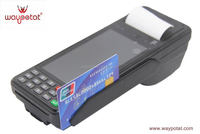 handheld touch screen smart card reader/fingerprint sensor pos terminal with nfc reader