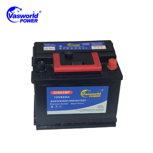 Factory Supply Korea Quality Portable dry charged Car DIN 66AH Starter Battery for All Brands
