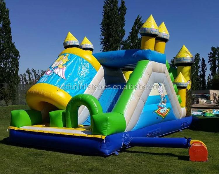 China Manufacturer Interactive Bouncing Slide Human