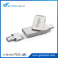 Smartphone Flash iDrive For Iphone OTG 3 In 1 Mobile Phone