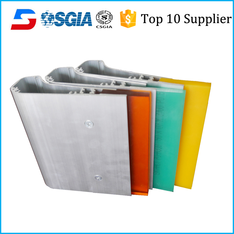 Hot sale professional screen printing aluminum squeegees handle