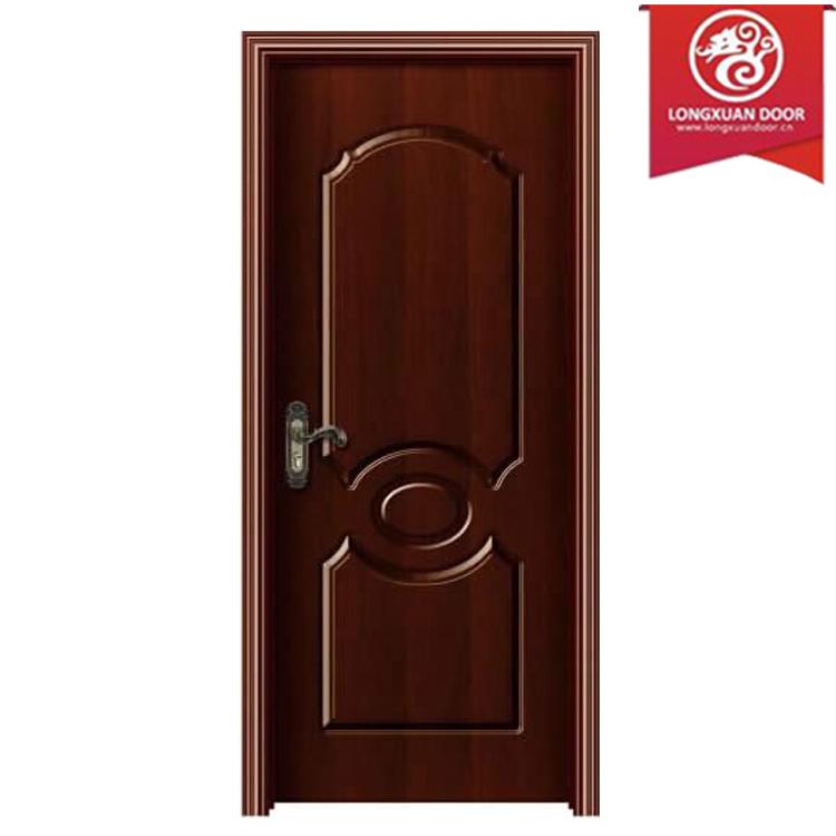 Fabrica de encargo exterior o interior de pvc upvc puerta for Puertas de madera para bano