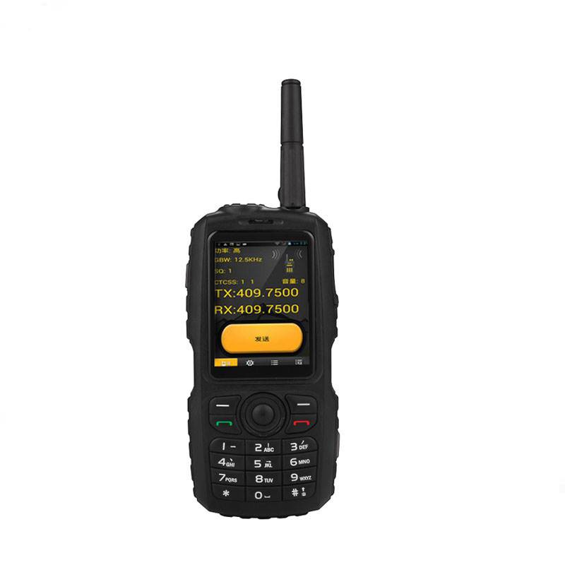 Rugged phone zello ptt walkie talkie 3g android 4.3 discovery A18