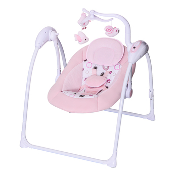 Motorised Baby Rocking Chair Baby Swing Seat Portable Rocker Infant Chair  Newborn Sounds Battery Operated New