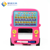 Learning bus LED smart educational kids toys magic writing board