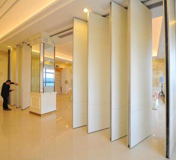 Soundproof Interior Sliding Doors Auditorium Acoustic Movable Partition  Doors
