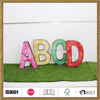 Outdoor Decorative Letters Garden Art For Wall Wholesale - Buy ...
