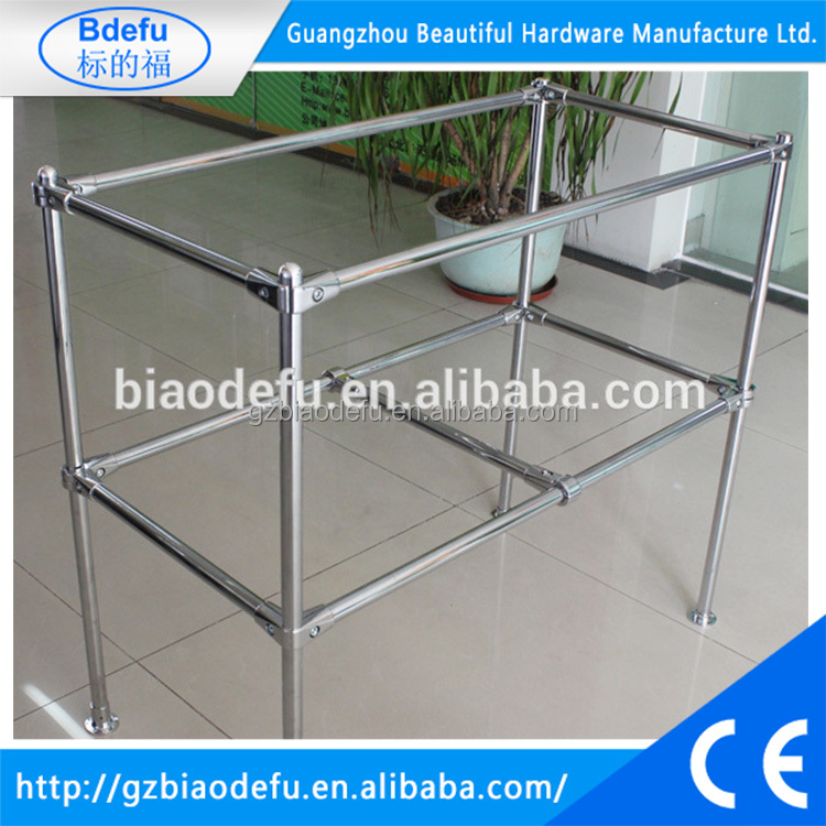wholesale metal counter display rack ,shelf display 1200 W x 750 D x 800mm H