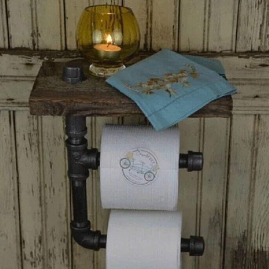 Retro Industrial Pipe Towel Racks Flower Racks Wall Ornaments Water Pipe Bookshelves Iron Art Paper Racks