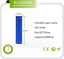 Wholesale disposable power bank 2600mah phone charger