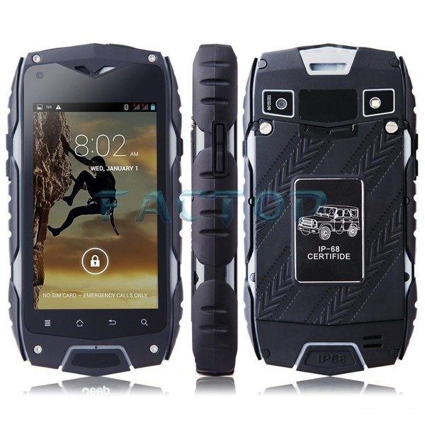 android 4.2 dual core dual sim phone professional unlocked bar cellphone support multi-language google play store rugged phone
