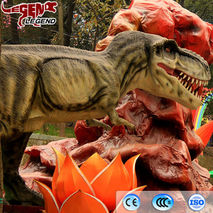 Hot sell fantastic carnival equipment robotic dinosaur
