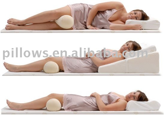 Best Support Natural Multi-Use Memory Roll Pillow