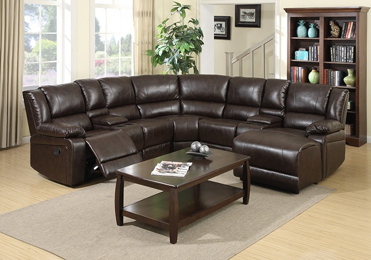 American Style Leather Round Corner Sofa Zoy-96180