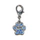 Speedypet Wholesale Hot Sale Alloy Custom Paw Print Dog Charm