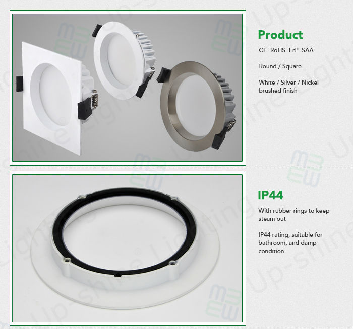 dimmable ded downlight australian standard 3 inch square led downlight retrofit