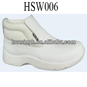 JY,abrasion resistant white upper middle cut new style nursing ankle boots