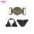 Customized Design Antique Brass Metal Sewing Brand Label Buckle For Women Swimsuit Straps