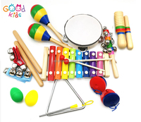 2018 New Products Wooden Educational Toys Wooden Musical Instrument for Kids