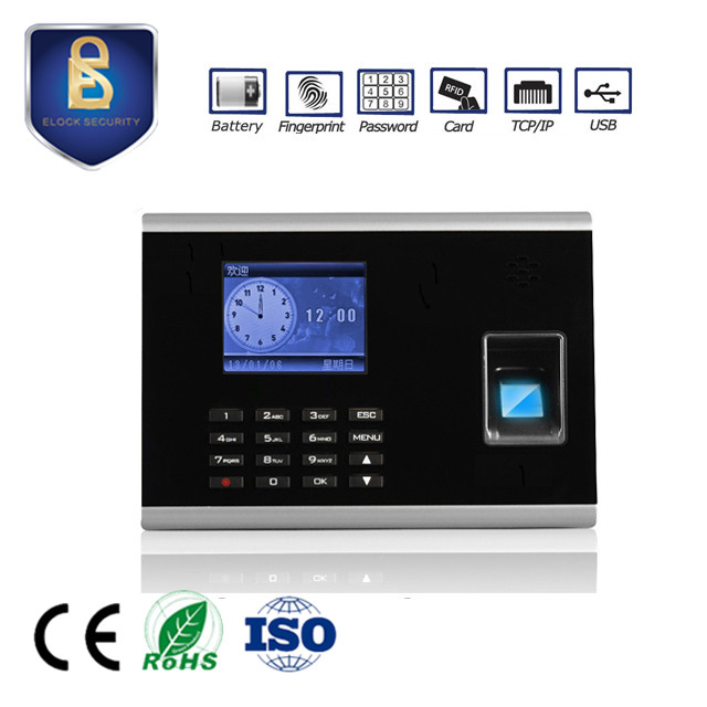 Factory Directly Selling Fingerprint Door Access Control Machine with TCP/IP , WAN Remote
