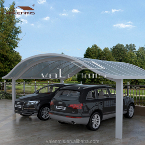 Canton Fair 2017 Professional Carport Manufacturer, High Grade Easy DIY Elegant Aluminium Carport/ Home Car port/ Car Shed