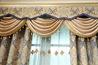 Exported good quality woven living room partition usa curtains