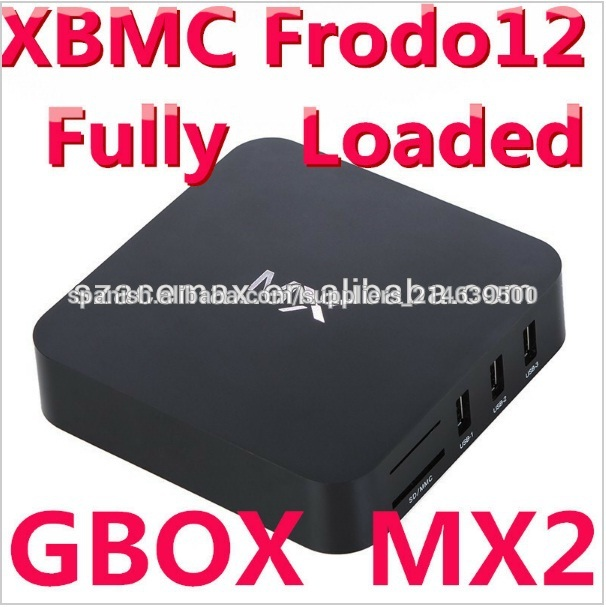 MX6 Android 4.2.2 Jelly Bean Dual Core TV Box