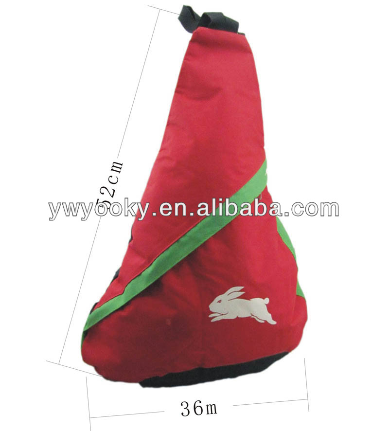 Cute Promotional triangle bag,Sling bag