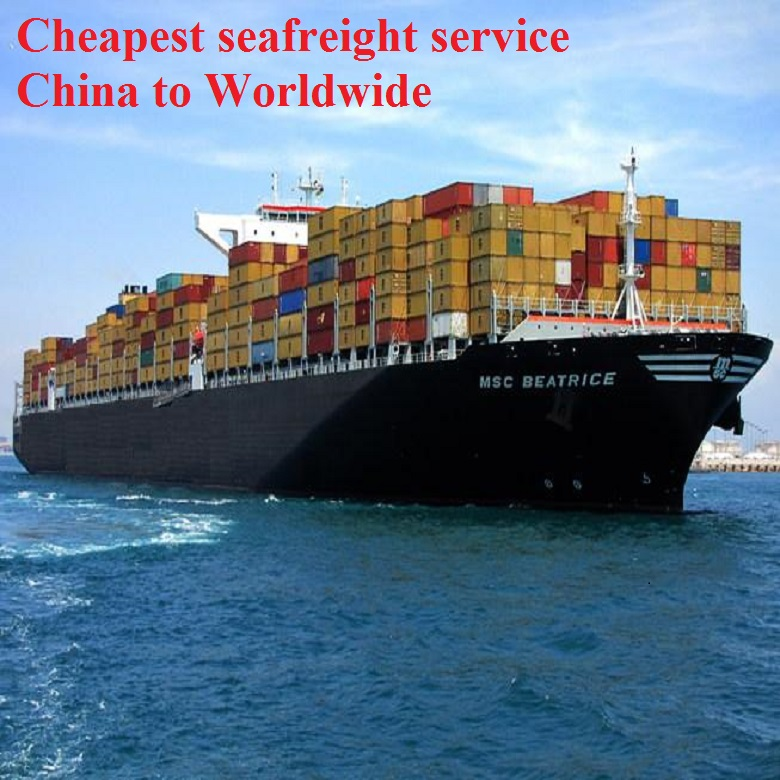 50% Discount Cheapest DDU DDP Droshipping Consolidation LCL FCL Ocean freight China to Kingstown St Vincent--Paul