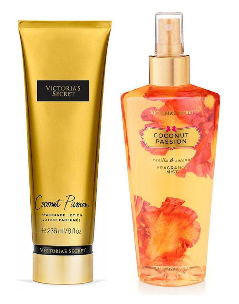 36c1cff922 Get Quotations · Victoria s Secret Coconut Passion Fragrance Mist and Victoria s  Secret Coconut Passion Body Lotion Set