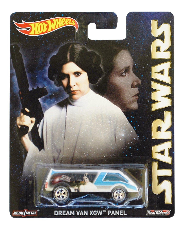 2015 Hot Wheels Pop Culture Star Wars Princess Leia Dream Van XGW Panel